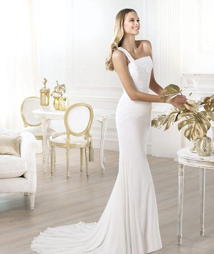 Wedding Dress 2014 Pronovias Style LAMBER [lamber]