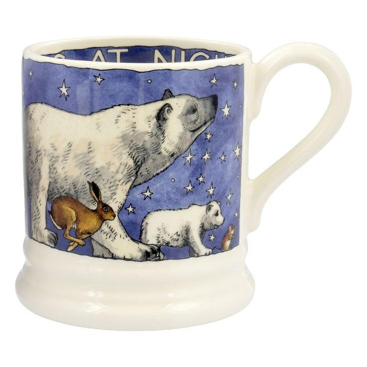 Seconds Winter Animals 1/2 Pint Mug