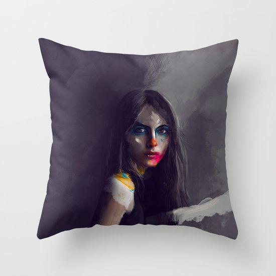 Lady Meli-Melo Throw Pillow  www.krzanoo.pl