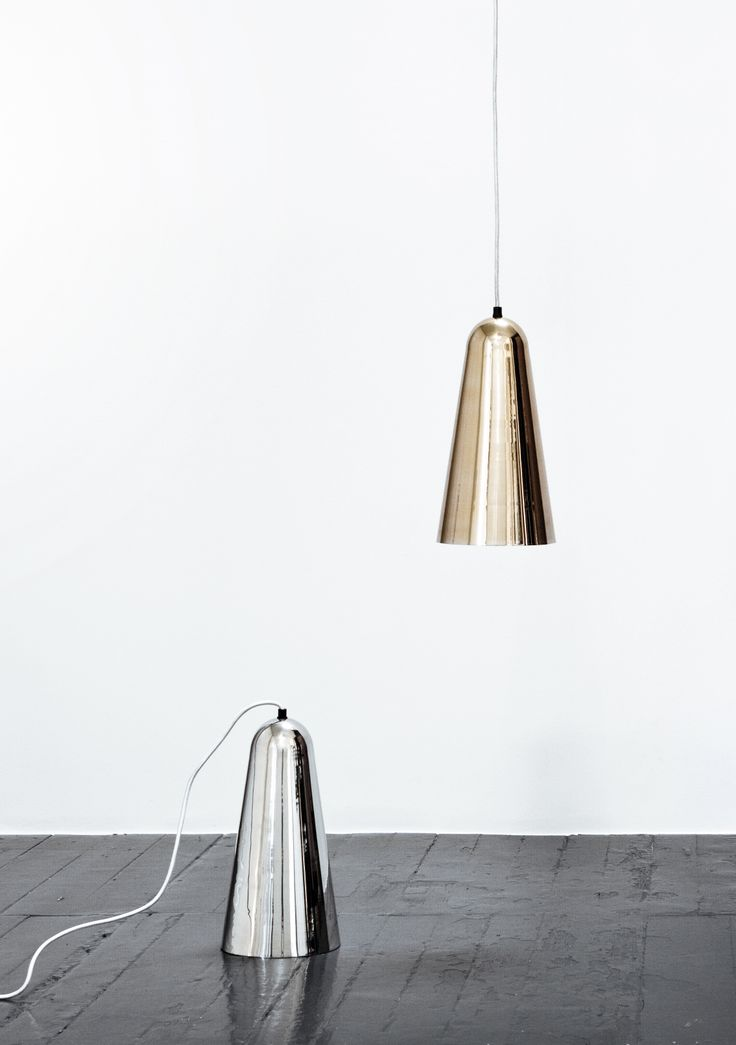 Pendant lamps in gold and silver by Lisbeth Dahl Copenhagen. Spring/Summer 2014. #LisbethDahlCph #dustandsparkle #pendant #lamp #gold #silver