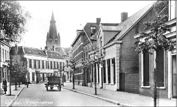 Wilhelminastraat in het Ginneken, Breda