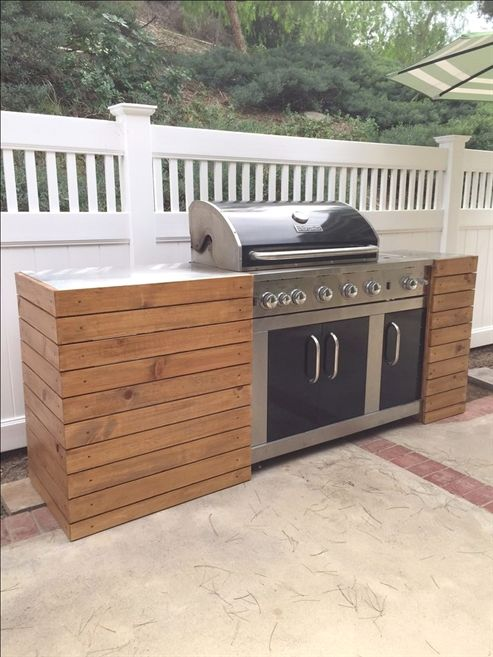 Grill Station design ideas for your backyard. #grilldesign #grillstations – Aaro… – Yard & Grill