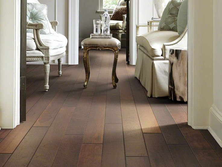 """Venetian Way: 453 St. Lucia. An engineered ply-core assortment, Venetian Way presents 5 fine colors in the best-selling exotic species, Kupay. This South American hickory is harvested from managed forests, so it's environmentally safe. The 5""""-wide planks are wire-brushed, which gives a fresh interpretation and soft, subtle texture to a favorite species. 5 colors—rich and saturated, they allow some of the natural variation of the handsome wood grain to show through."""