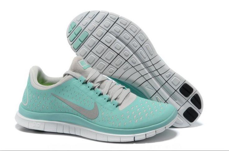Nike Free 3.0 V4 Womens Tiffany Blue Reflectiv Silver White