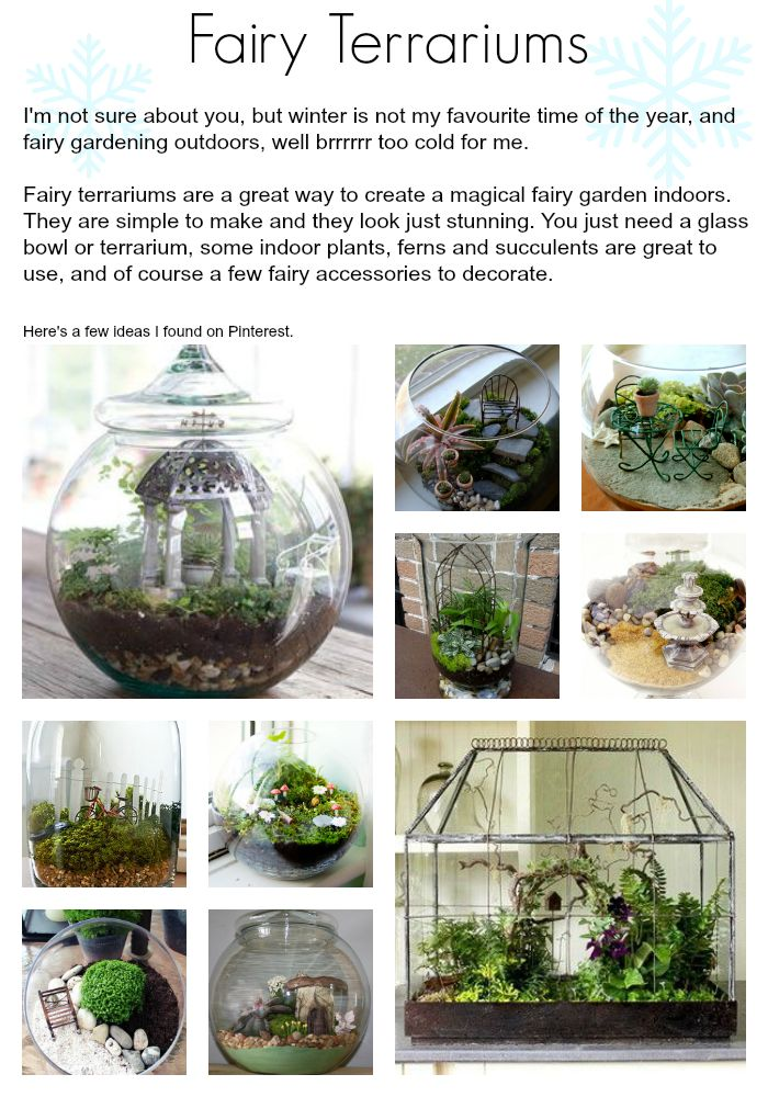 46 best Creating a Fairy Garden images on Pinterest