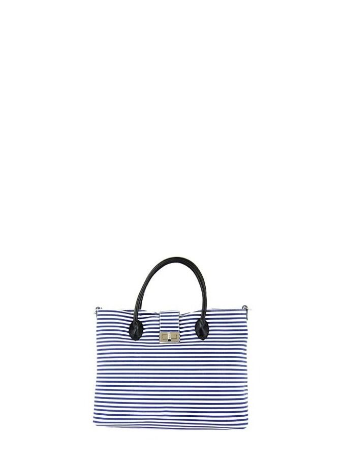Modna skórzana torebka w marynarskim stylu. Elena Andrea 389 PLN  #marynarski #sailor #fashion #bag #limango