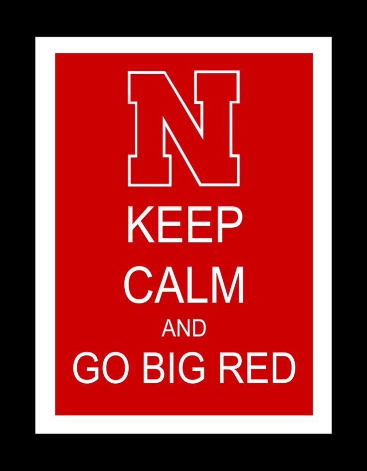 Nebraska Huskers Keep Calm