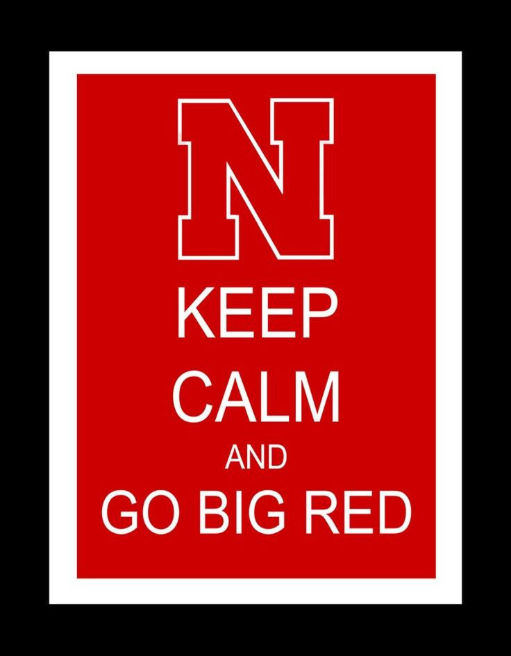 Nebraska Huskers Keep Calm