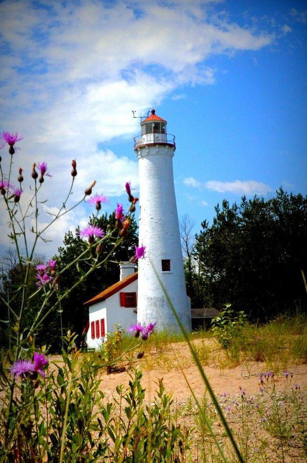 Sturgeon Poimt Lighthouse by Steve Femminineo on 500px / Lake Huron / Michigan