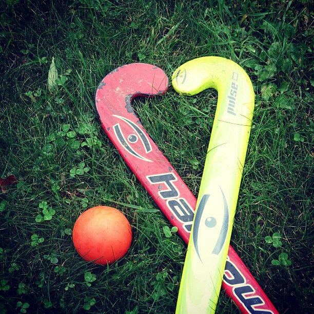 my field hockey sticks from this and last year