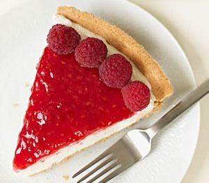 Very raspberry pie.  Make, chill and eat within 3 hours and 22 min.