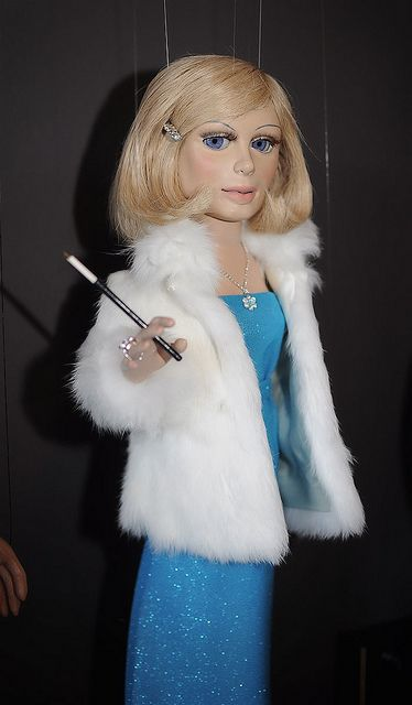 Lady Penelope from Thunderbirds. One of my early pre adolescent crushes. In hindsight should I be admitting this. She's a puppet for goodness sake!!!!