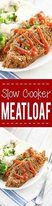 Slow Cooker Meatloaf Slow Cooker Meatloaf Recipe - A simple and...  Slow Cooker Meatloaf Slow Cooker Meatloaf Recipe - A simple and delicious easy Slow Cooker Meatloaf recipe using a juicy classic meatloaf recipe and cooked in the Crock Pot. Super delicious and easy Crockpot family dinner recipe. Recipe : http://ift.tt/1hGiZgA And @ItsNutella  http://ift.tt/2v8iUYW