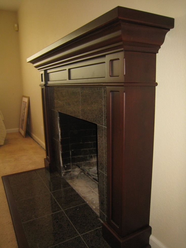 Hand Made Cherry Fireplace Mantel by Michael Meyer Fine Woodworking | CustomMade.com