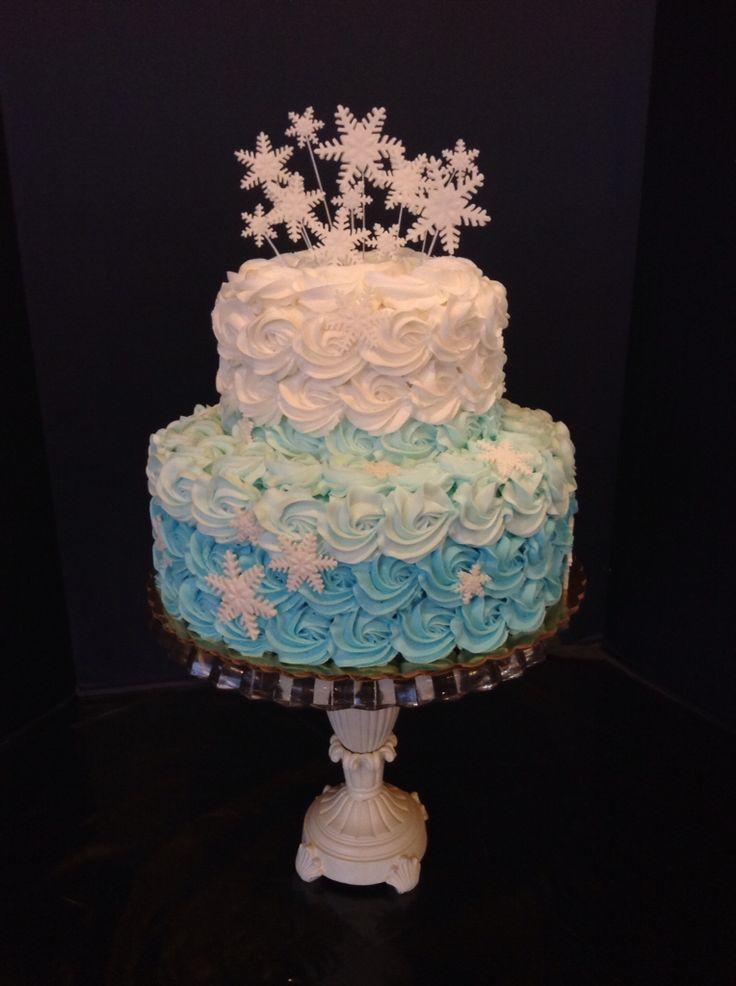 17 Best Ideas About Winter Wonderland Cake On Pinterest