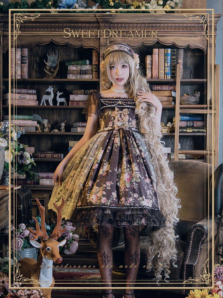 Sweet Dreamer -Flower Wonderland- Classic Lolita OP Dress