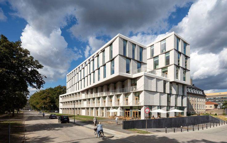 Building of the day - Patient Hotel Juliane Maries Vej, København, Denmark