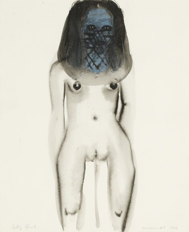 Marlene Dumas, Bodily Fluid, 1996, Zeno X Gallery