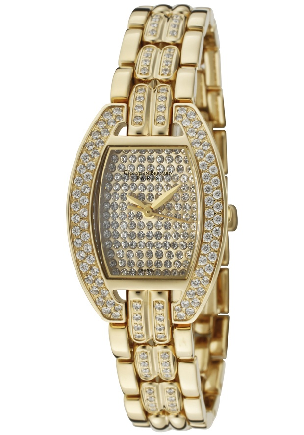 Price:$229.99 #watches Christian Bernard NT269ZZAW, Collection exclusively dedicated to ladies who are looking for elegant jewellery watches