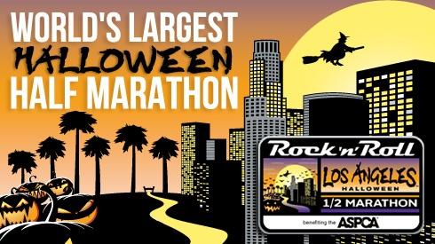 Los Angeles Rock 'n' Roll Half Marathon--can't wait!!