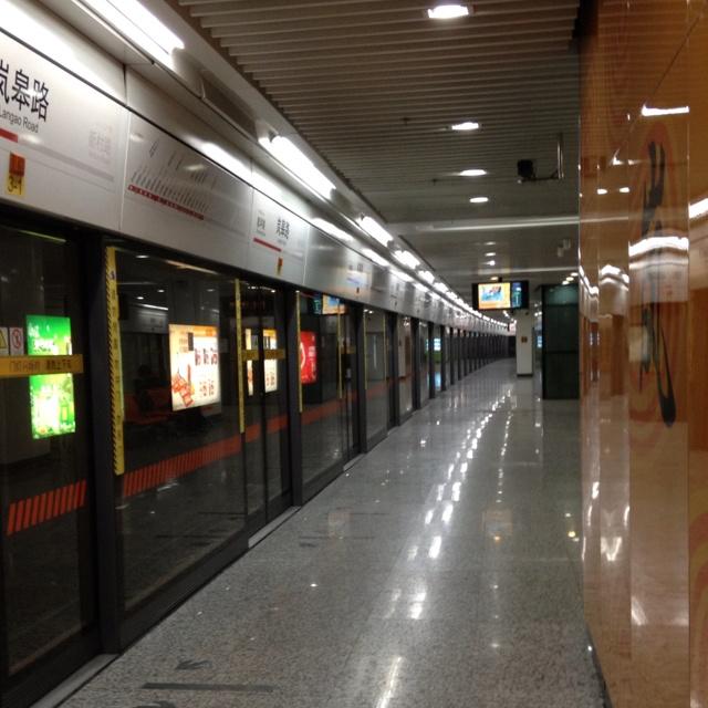 상해에서 이동은 지하철이 최고