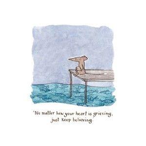 Affirmation Card by Australian Illustrator Kate Knapp.