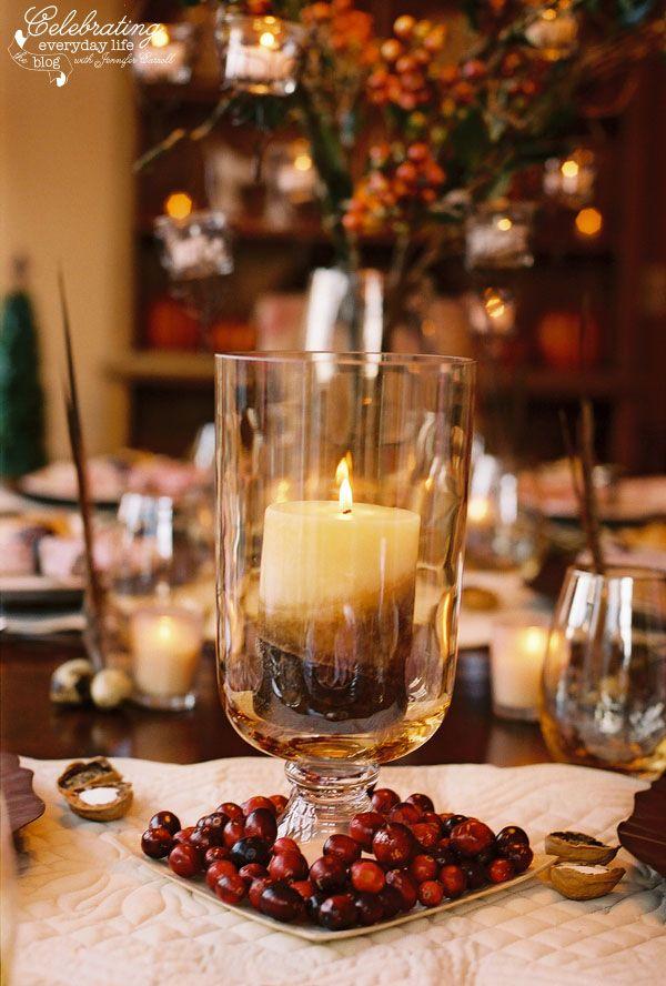 A Cranberry Inspired Thanksgiving Celebration {Thanksgiving Decor Ideas