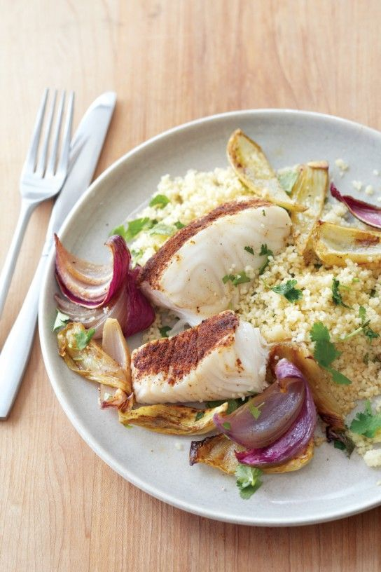 Spiced Roasted Halibut with Fennel and Onion   Williams-Sonoma Taste