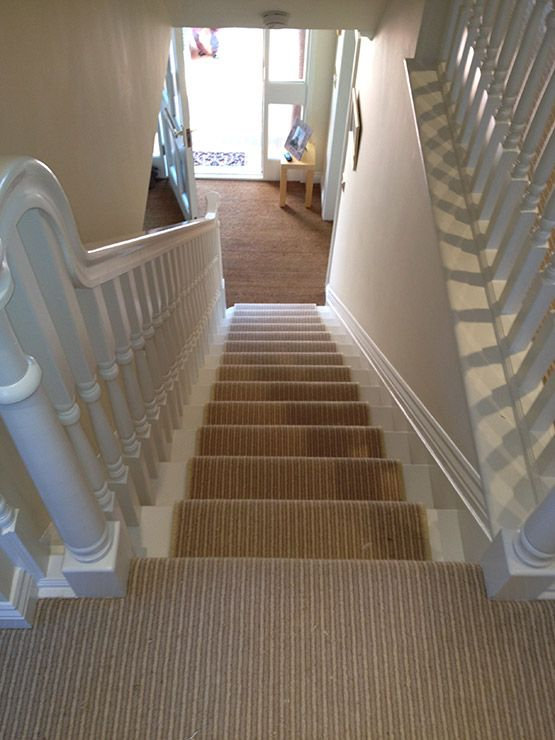 Carpet On Pinterest Stair Carpet Striped Carpets And Stair Runners