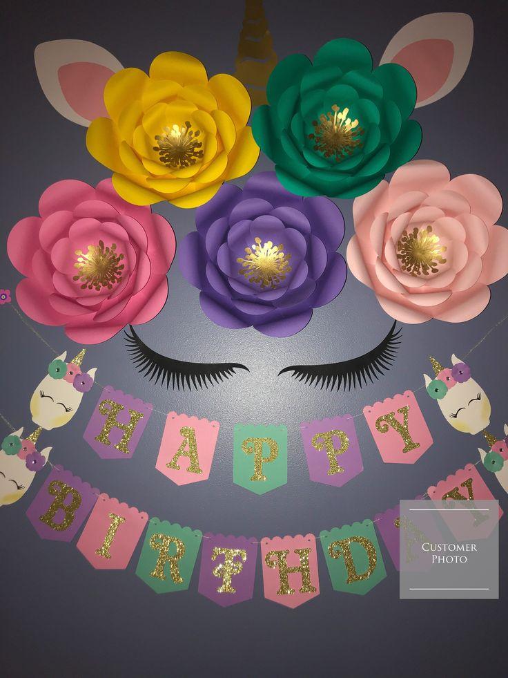 Unicorn Birthday Ideas