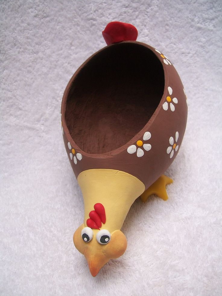 artesanato galinhas em cabaça passo a passo - Pesquisa Google