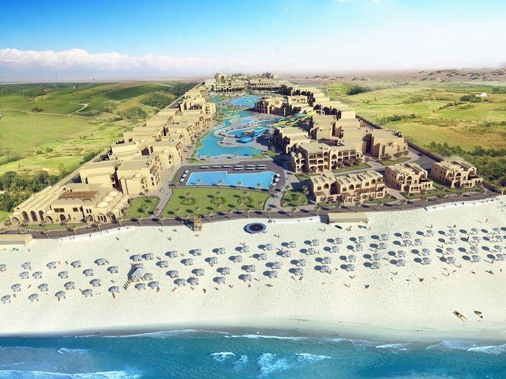AlCazar Sharm ElSheikh Masterplan Visualization