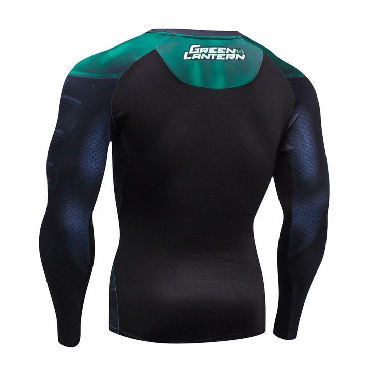 2016 otoño invierno camisa de compresión de fitness clothing cothing marca para hombres de secado rápido de malla transpirable 3d hombres crossfit s 2xl en Camisetas de Ropa y Accesorios en AliExpress.com | Alibaba Group