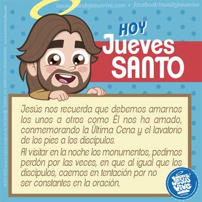 Jesús Vive® – Jueves Santo