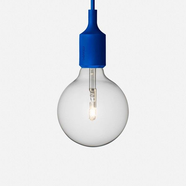 Muuto E27 Halogen Pendant ($71) ❤ liked on Polyvore featuring home, lighting, ceiling lights, muuto, halogen light, halogen lamp, halogen lights y halogen ceiling lights
