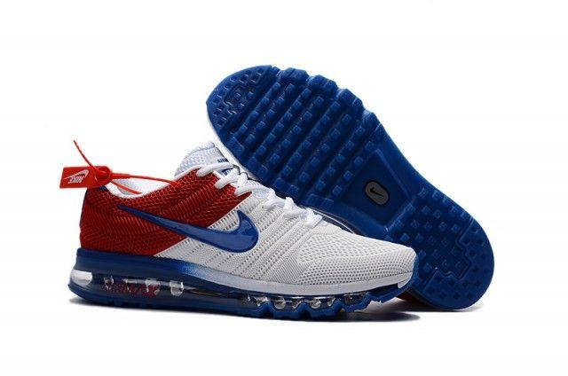 Men's Nike Air Max 2017 KPU Navy Blue University Red 849560
