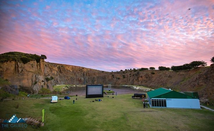 The Hillcrest Quarry Galileo Open Air Cinema Every Tuesday Evening