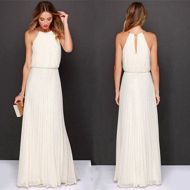 Long maxi day dresses