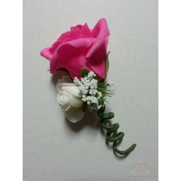 Corsage Roos CEM 29  #Bloemschikken #Decoreren  goedkoop-bloemscikken.nl