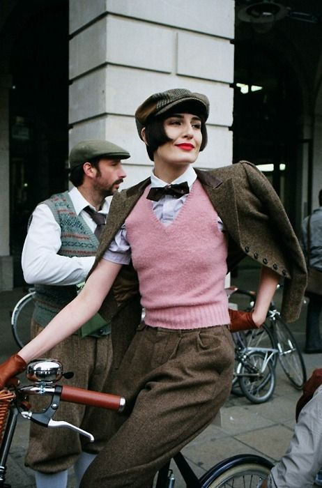 //  I wish our Tweed Ride was in winter. I'm going to have a bike ride or two tweed style anyway! -- Eatl