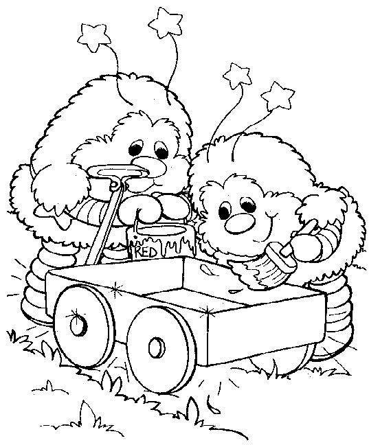 The 136 best images about Rainbow Brite Coloring Pages on