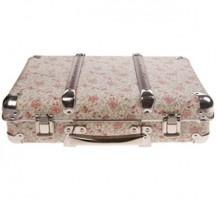 Decoration - valise liberty rose vente accessoires et objets décoration enfants : My Little Bazar.