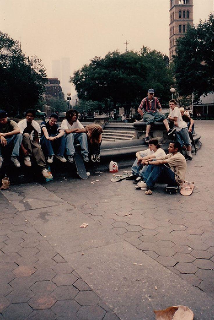 Polaroids from on set of Larry Clark's Kids 1995 Unseen