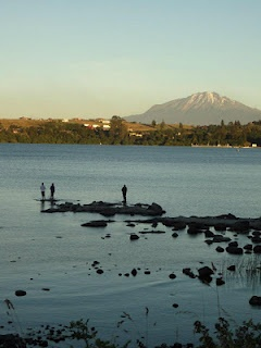 Fishing for catch of the day in Puerto Varas, #Chile's Lakes Region #travel #lp