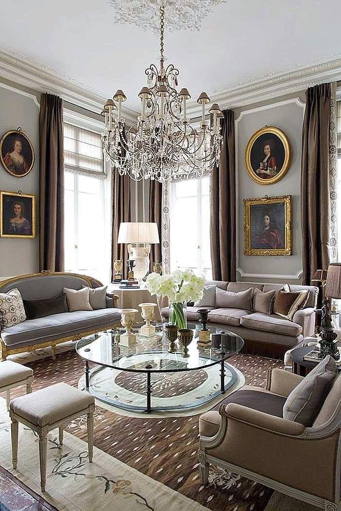 table de salon baroque moderne table