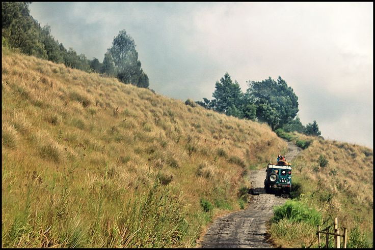 Long way to Mount Bromo