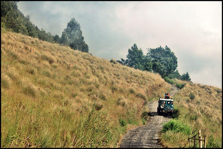 Long way to Mount Bromo