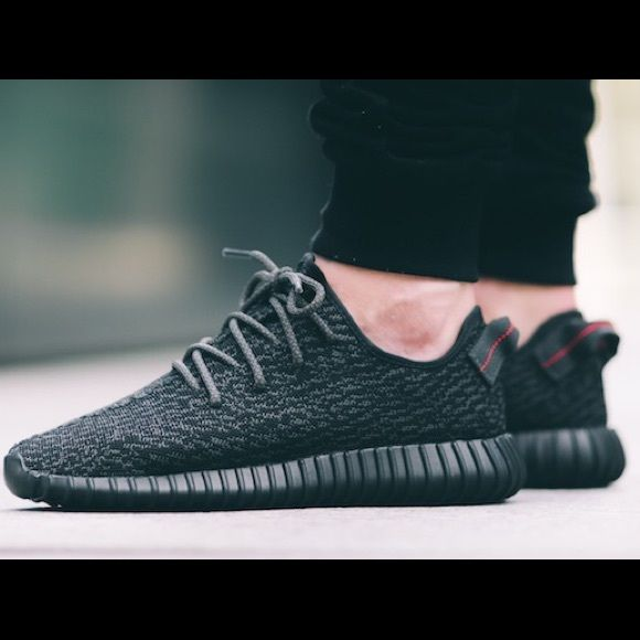 Low Top yeezy boost 350 v2 black white by1604 'sply 350' retail price