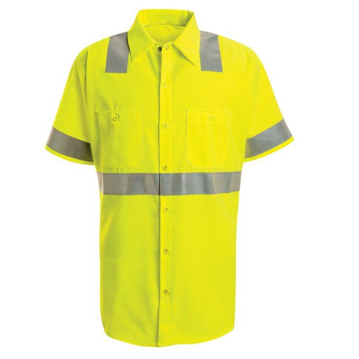 Hi-Visibility Work Shirt - Class 2 Level 2 SS24HV