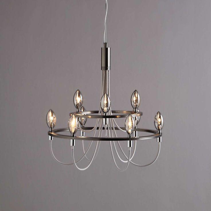 Fredirica 9 Light Chrome Chandelier Dunelm Ceiling